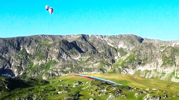 Балони над Рилските езера