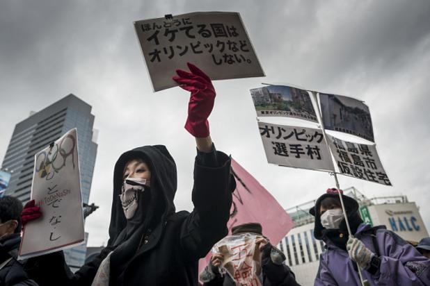 анти-олимпийски протести