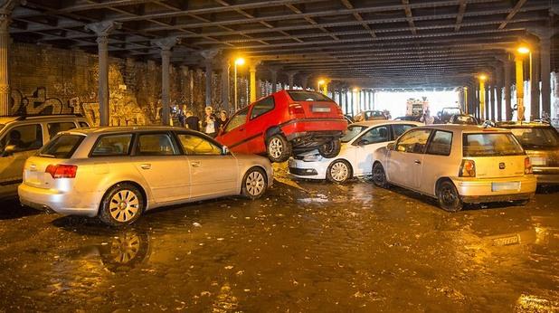 Тежка буря в Берлин