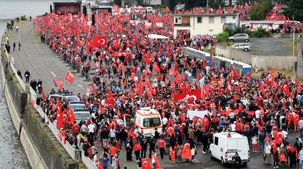 Кьолн демонстрация