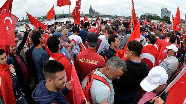 Демонстрация в Кьолн