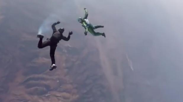 Скок без парашут от 7500 м.