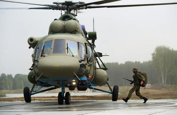 Air Landing Battle March русия