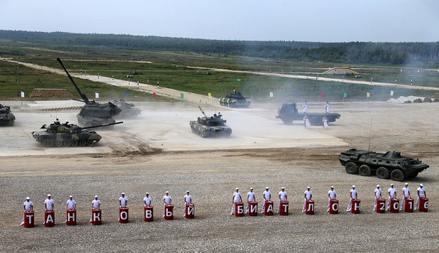 Начало на индивидуално състезание с танкове