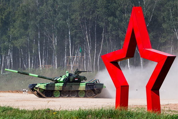 Танков биатлон