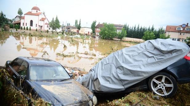 Наводнения в Македония