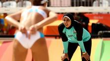 плажен волейбол египтянки
