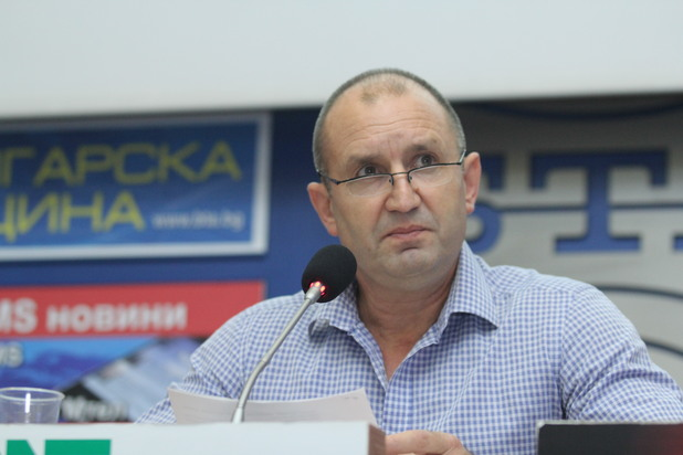 Генерал Румен Радев, БСП