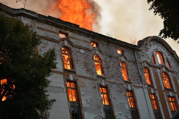 пожар в тютюневите складове в пловдив