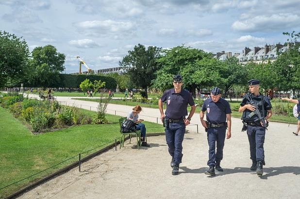 париж, полиция, август 2016
