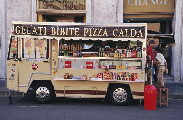 храна, италия, сладолед