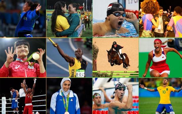 16 велики момента от Рио 2016