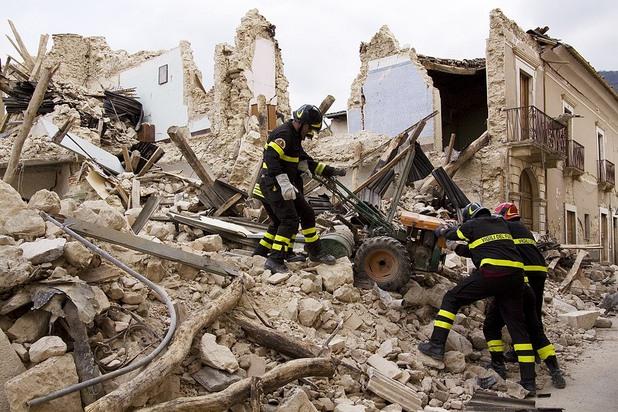 земетресението в акуила