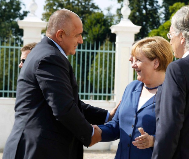 среща в Германия - Бойко Борисов - Ангела Меркел