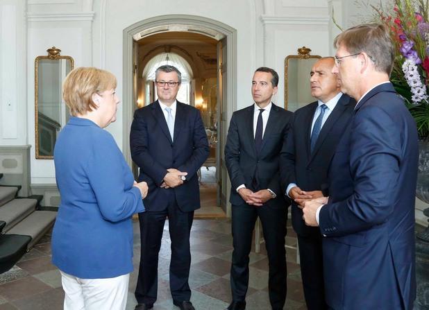 среща в Германия Ангела Меркел - Бойко Борисов