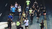 Nike+ running club app