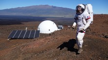 Симулация астронавти Марс