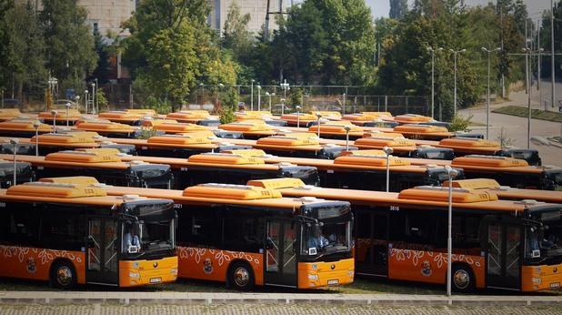 автобуси в софия