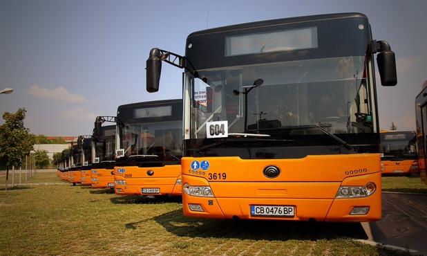нови автобуси в софия