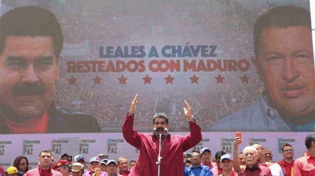 Митинг Венецуела