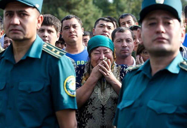 погребение на ислам Каримов