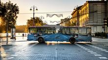 вилнюс, тролейбуси