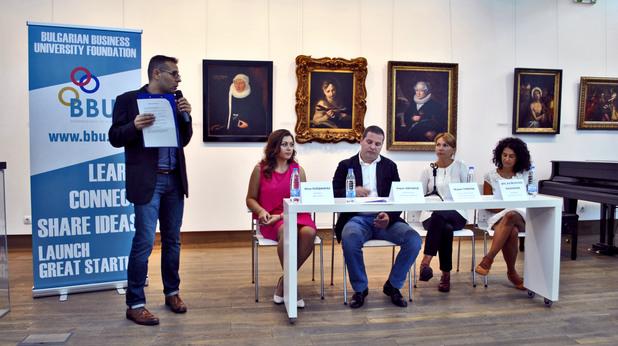 Нов български университет и фондация BBU обявиха старта на програмата BBU Startup School