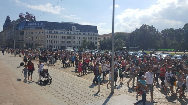 Протест на майките с увреждания