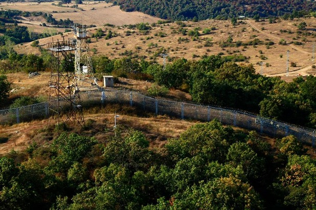 оградата по българо-турската граница