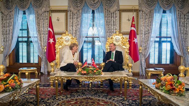 Меркел и Ердоган