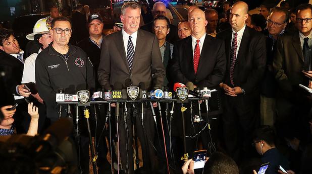 Властите след експлозията в Ню Йорк