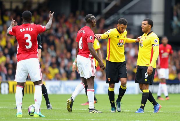 Уотфорд - Манчестър Юнайтед 3:1