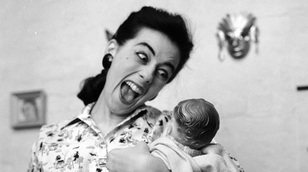бебе, майка