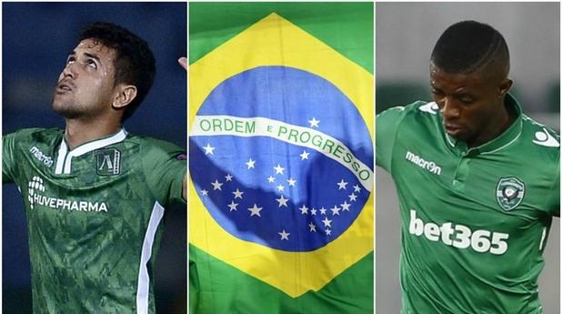 лудогорец, бразилци