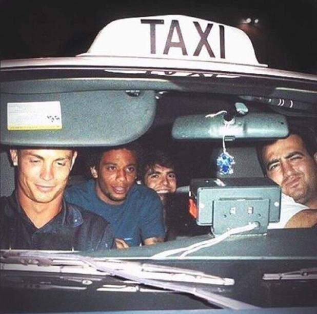 такси в мадрид