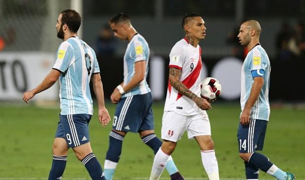 Перу - Аржентина 2:2