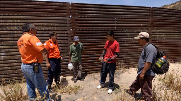 Мигранти Мексико