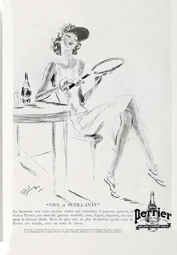 perrier,реклами