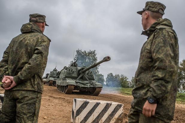 русия, военни