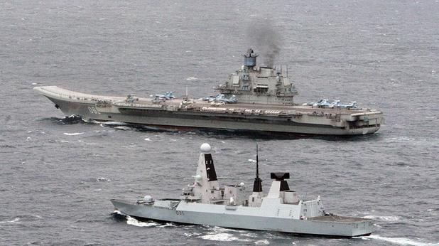 Руски военен кораб