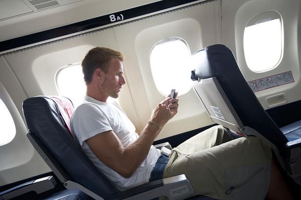 мобилен телефон, полет
