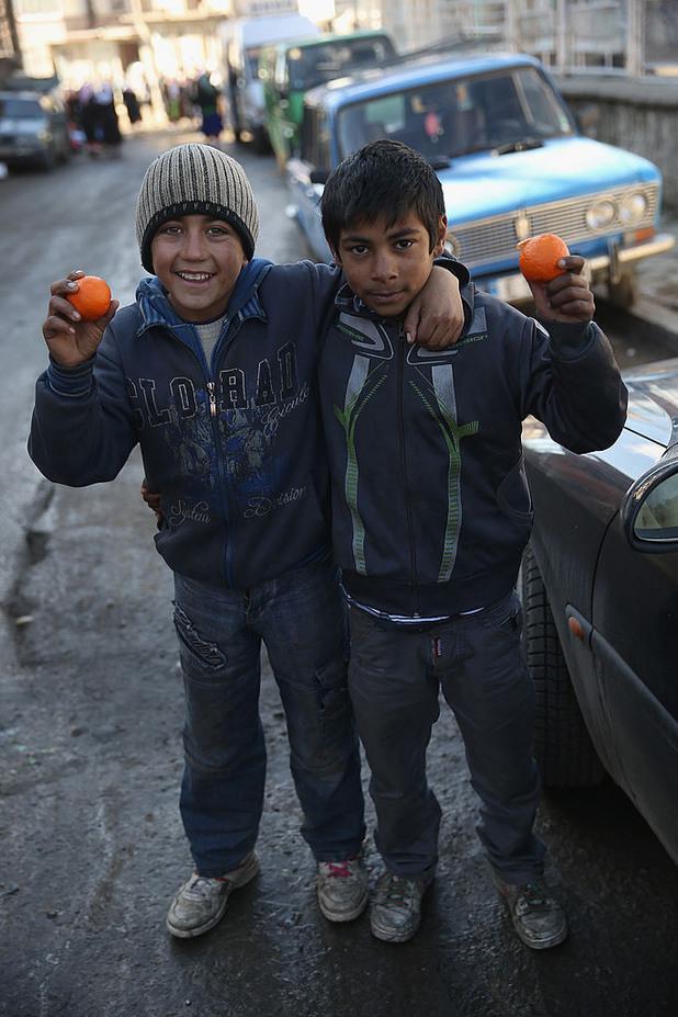 роми, деца