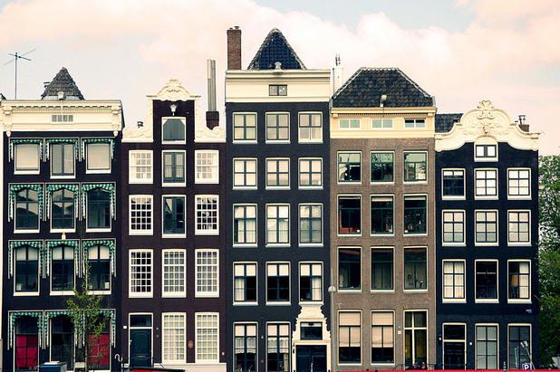 сгради в Амстердам