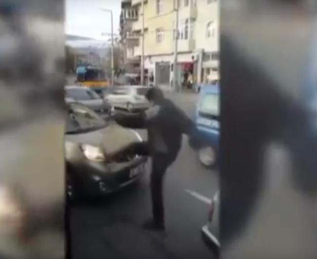 агресивен шофьор