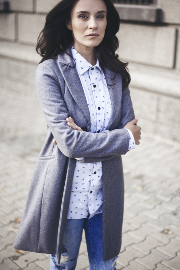 Радина Кърджилова, фотосесия Armani|Exchange