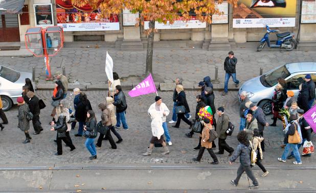 Протест на учените - 1 ноември