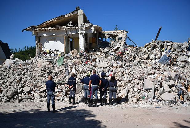 земетресение в италия