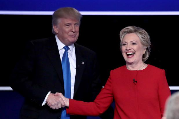 Доналд Тръмп и Хилари Клинтън