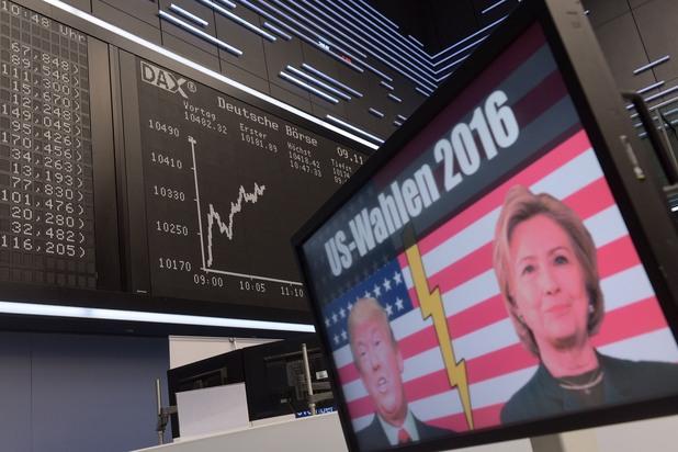 Хилари Клинтън, Доналд Тръмп
