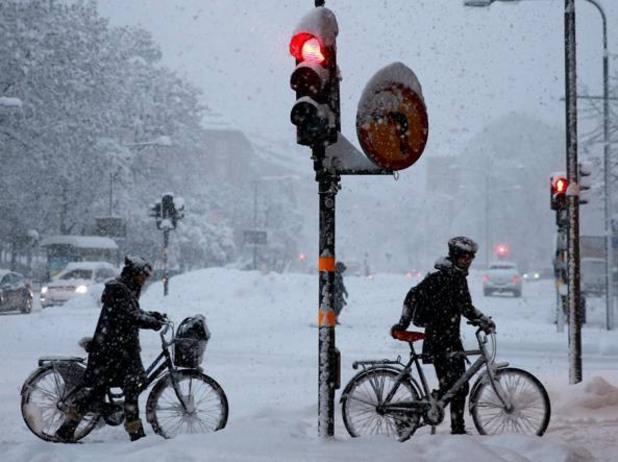 Сняг Стокхолм
